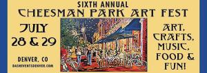 cheesman park arts fest marquee magazine